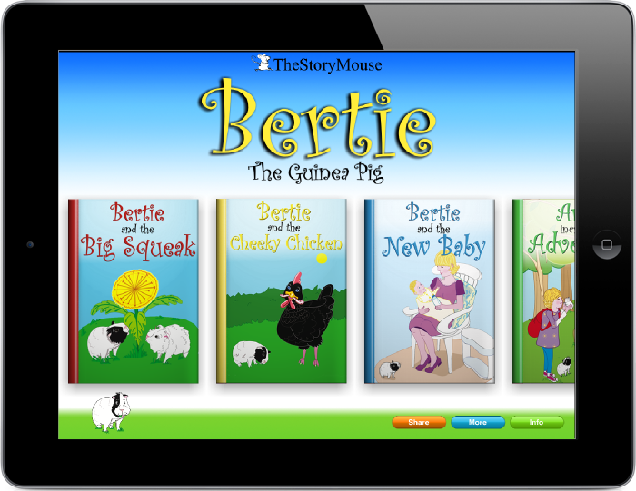 eBooks | Bertie the Guinea Pig